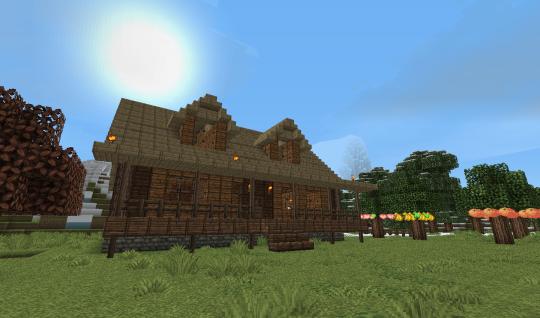 The Pandarosa main house