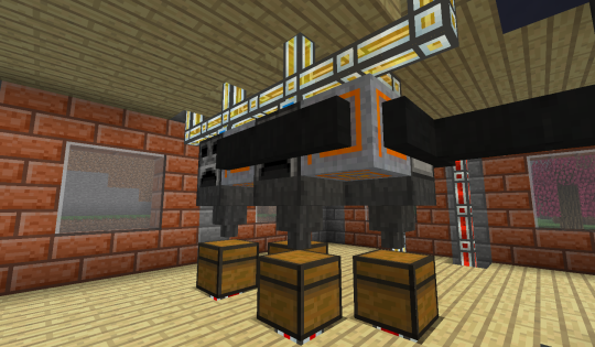 Four slag furnaces and four heaters.