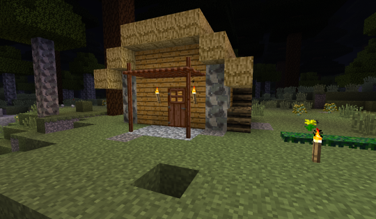 I've just finished the chalcolithic renovations on my first cabin. Gosh, I love the copper saw.