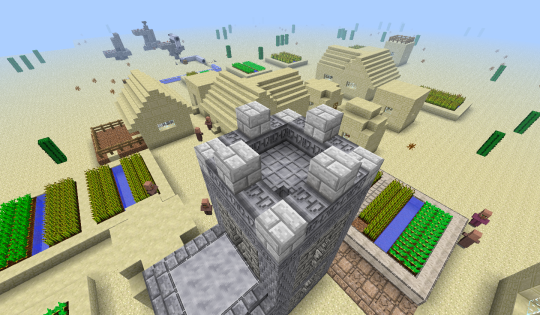 Here on top you can see 'inscribed' marble, 'raised' marble (on the floor), and nether quartz brick.