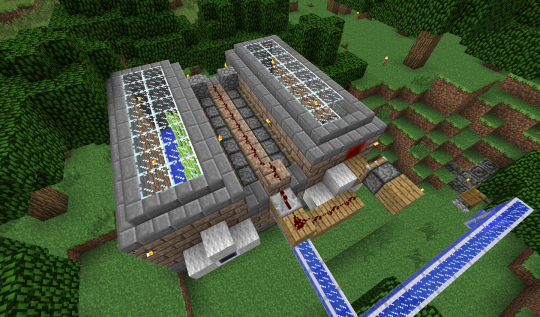 I started by doubling the size of my sugar cane farm. The BUD is on the right side.