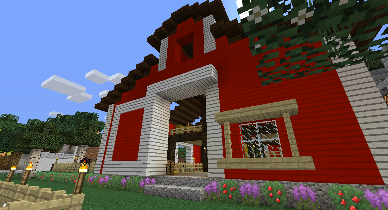 Red Barn Using Better Agriculture Mod Screenshots Show Your