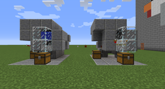 Two variants of VladTubaka's soon-to-be-famous auto-chicken farm: On the left is