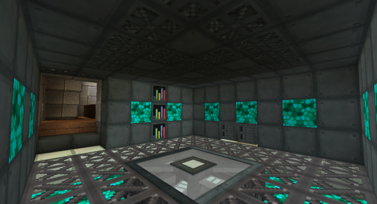 This is the Telepad Room looking the other direction.