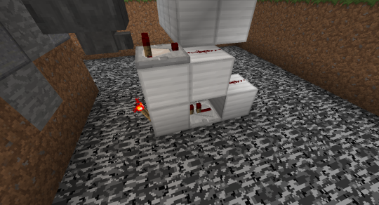 Set up some redstone like this. This setup will cause the redstone torch to depower once the filter hopper has a certain number of items in it.
