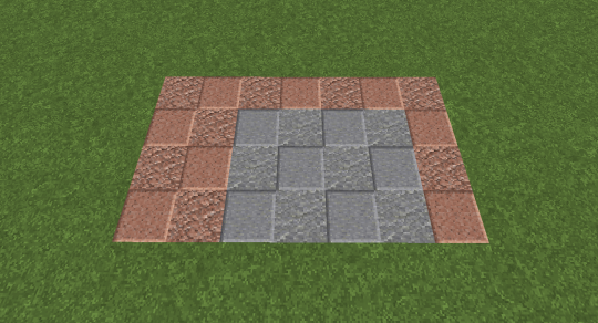 This is the area you will need for today's project. The gray blocks are for the basic piston mechanism. The red blocks show the space needed for the button triggers which we will use tentatively today.