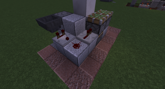 Place a comparator next to the hopper. The block below the dropper receives a redstone signal, it will place the cobblestone in the hopper, causing the comparator to emit a redstone signal for just an instant (before the hopper feeds the item back into the dropper) that is carried to the top of the piston extender, causing it to extend and retract one more time.