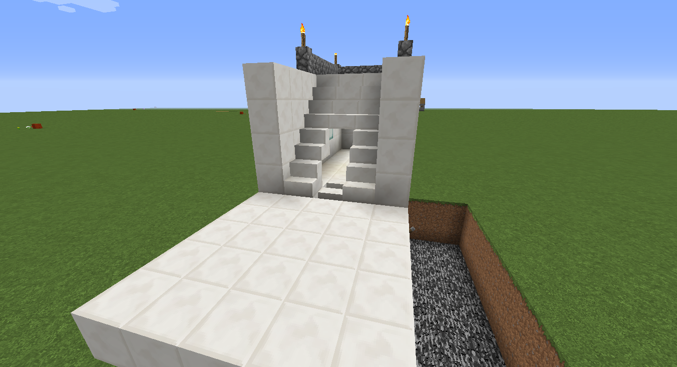 Staircase Secret Door Part 1 Piston Extenders Mine