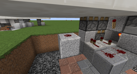 Place a block two blocks below the button block and put redstone dust on it. This will activate when you push the button.