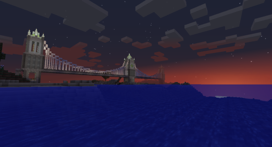 My render distance isn't spectacularly far (12 chunks), but I kind of like the fading effect.
