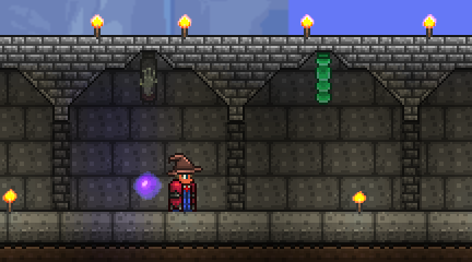 Making A Single Front Door In Terraria Mine Build Eat