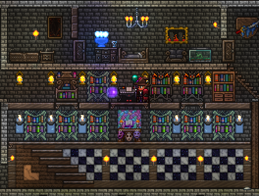 Terraria Mansion Phase 1 Complete Mine Build Eat